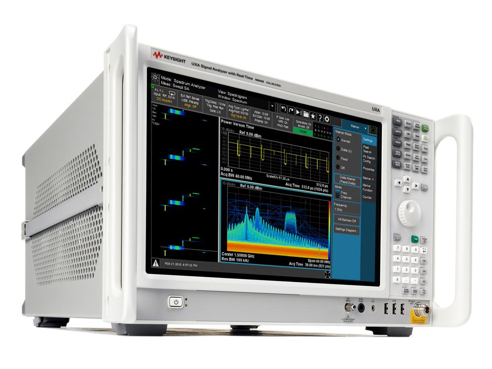 Новый анализатор сигналов UXA компании Keysight Technologies