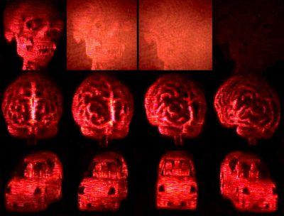 Создан голографический дисплей с возможностью перезаписи данных