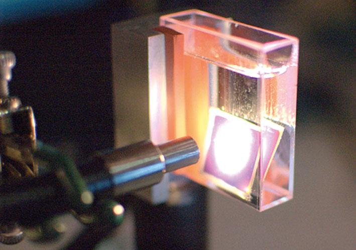 «Искусственный лист» получает водород с помощью солнечной энергии