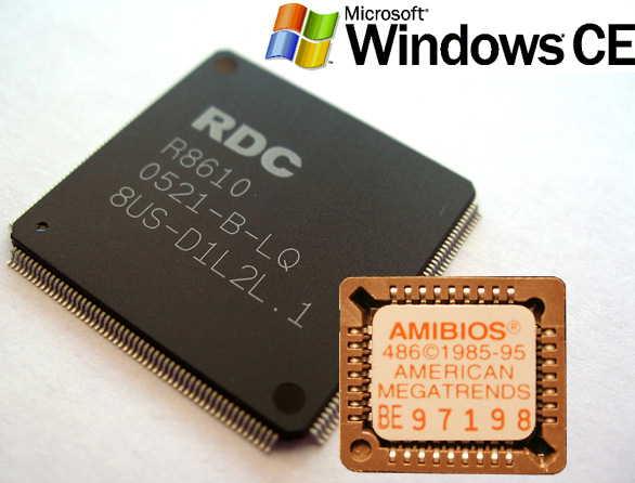 Система на кристалле RDC R8610 с поддержкой системы BIOS