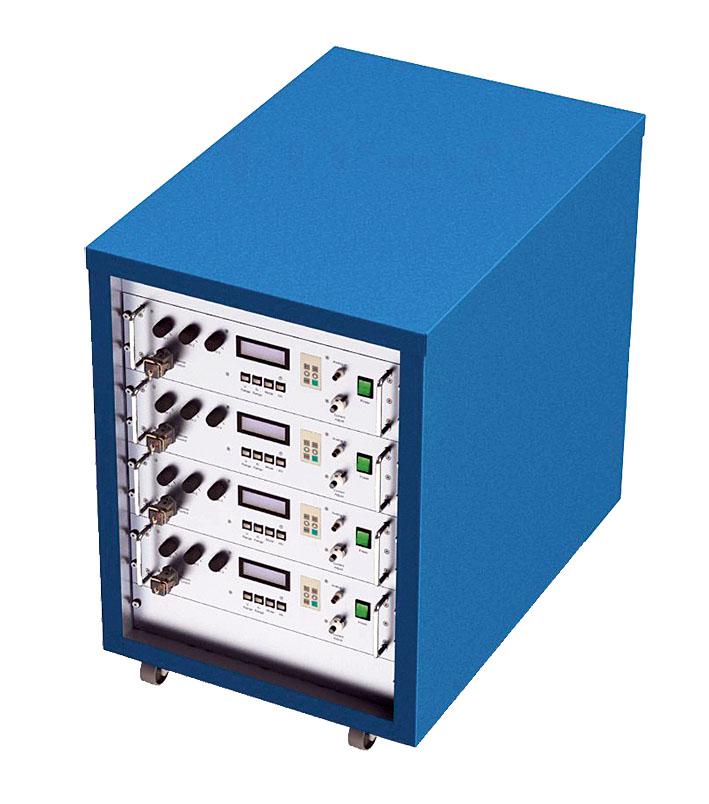 Электронная нагрузка с жидкостным охлаждением для нагрузок до 40 кВт