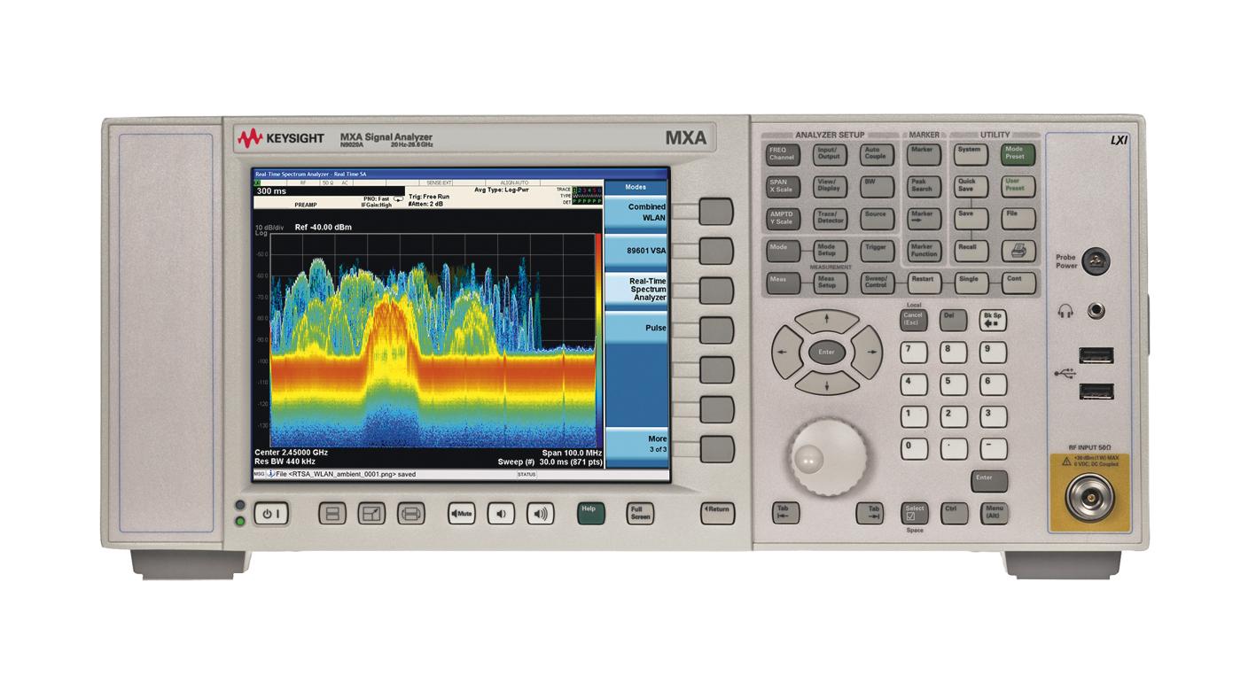 Уникальная возможность расширения частотного диапазона анализаторов сигналов серии X