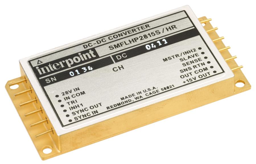 Радиационно-стойкие DC/DC-преобразователи средней мощности с выходными напряжениями 3,3 В