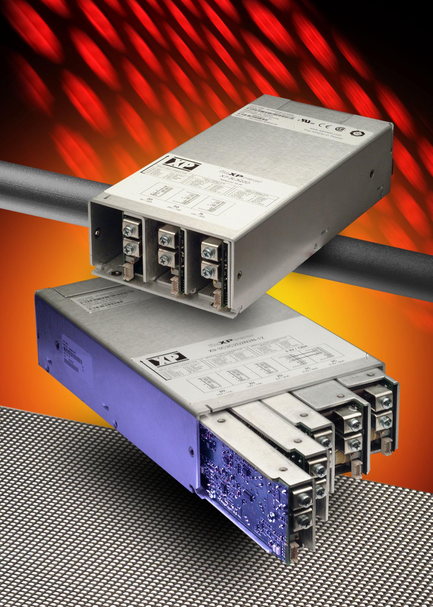 750-ваттные модули расширяют серию fleXPower конфигурируемых ИП AC/DC