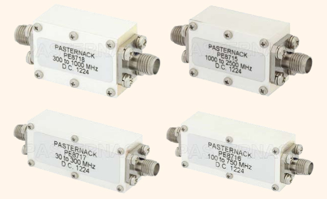 ВЧ-фильтры производства Pasternack