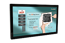 """22"""" ЖК-дисплей с multi-touch сенсорным экраном и узкой фальш-панелью"""