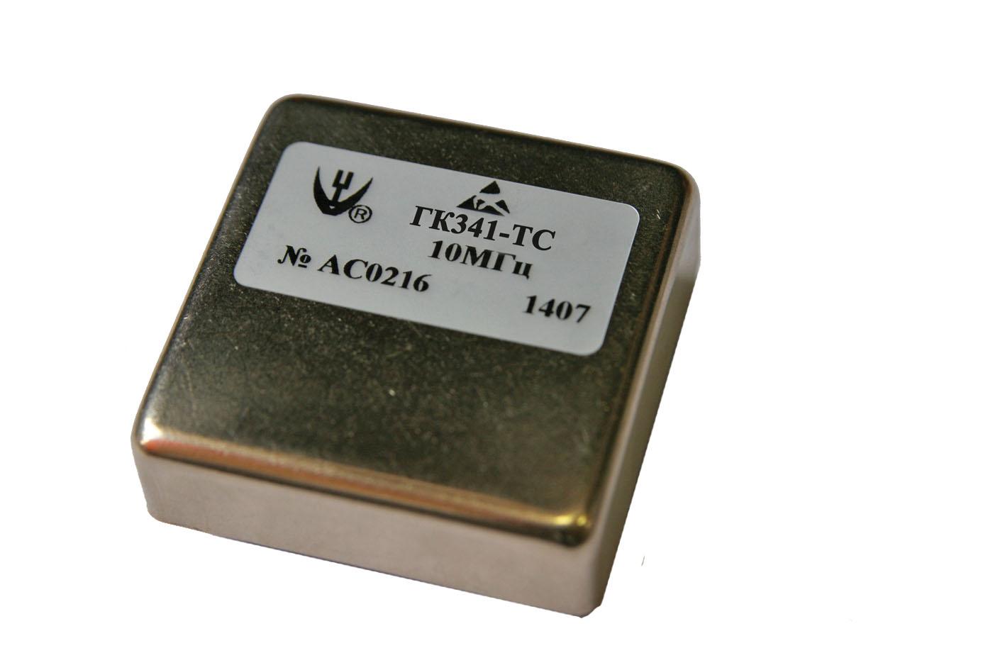 Новый ультрамалошумящий прецизионный термостатированный кварцевый генератор ГК341-ТС
