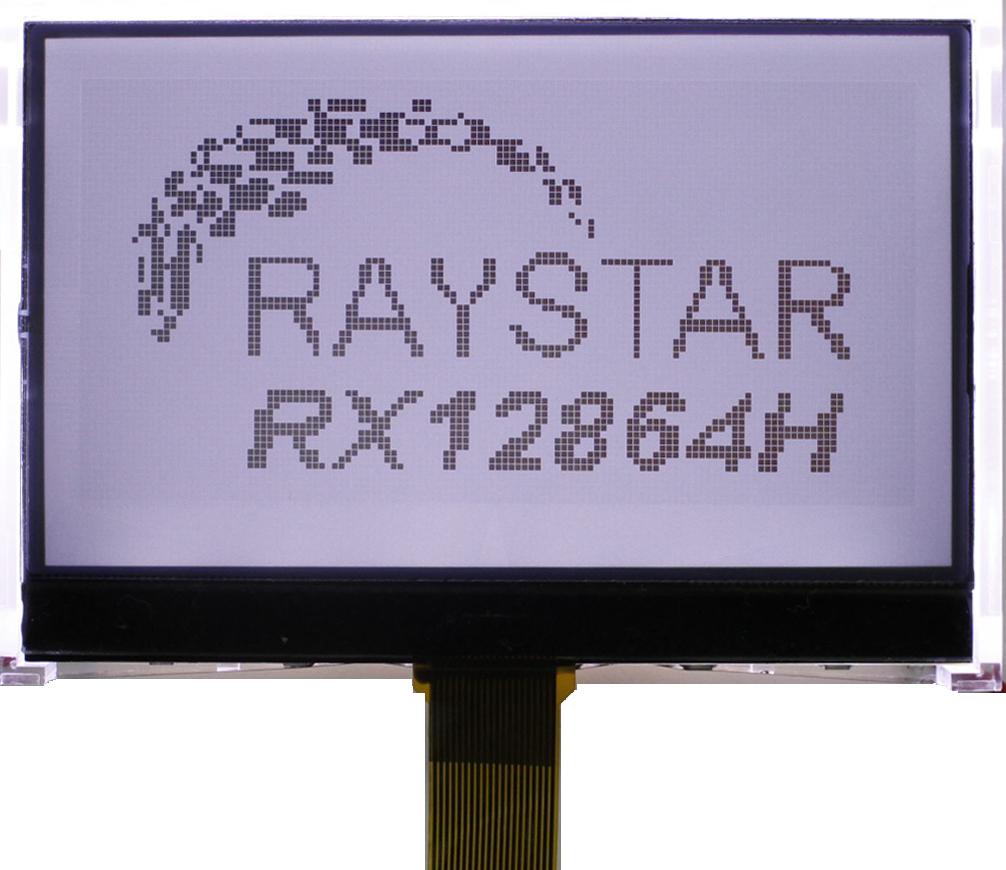 Модуль графического информационного ЖК-дисплея RX12864H, выполненного с применением технологии COG