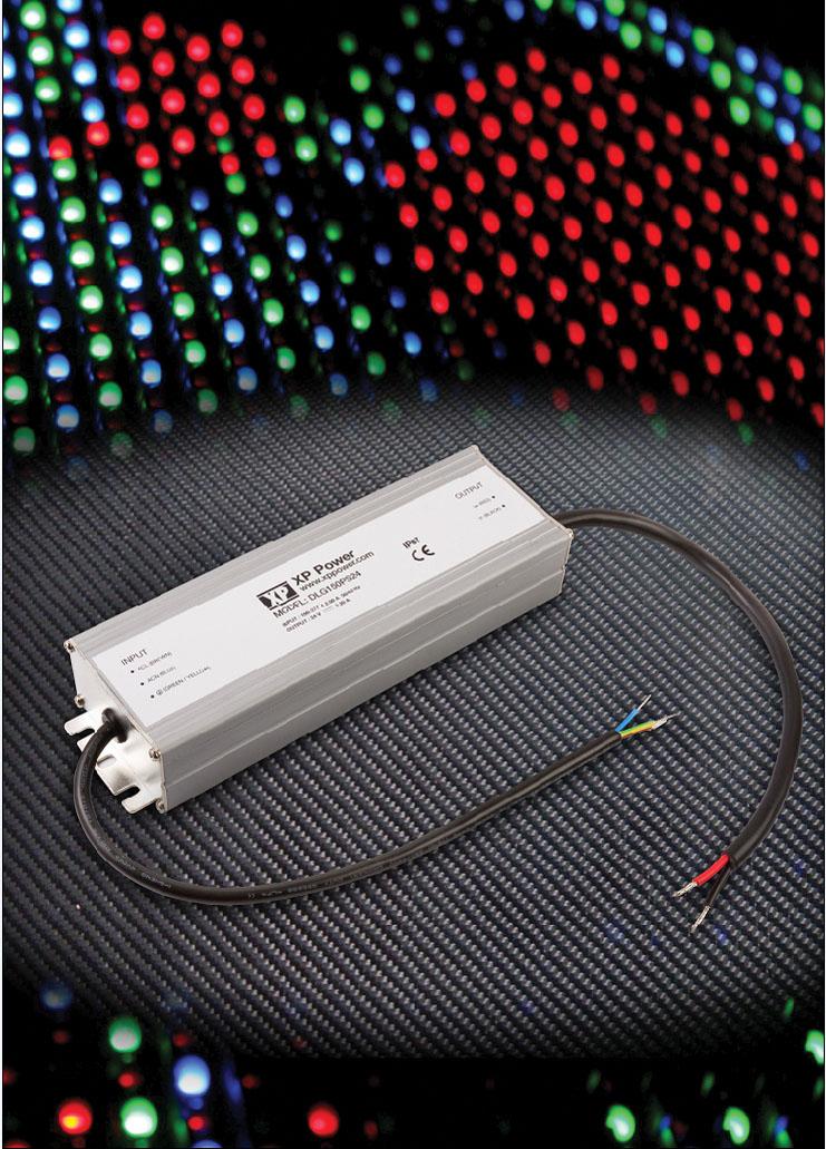 Высокоэффективные герметизированные модули драйверов светодиодов  с выходными мощностями  от 70 до 150Вт