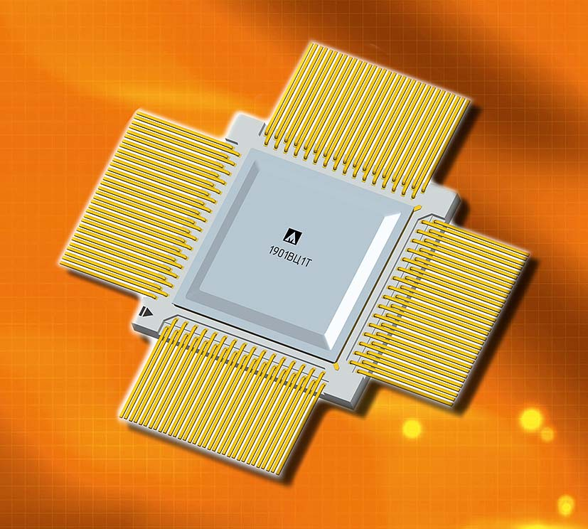 Двухъядерный микроконтроллер компании «Миландр» для высоконадёжных применений