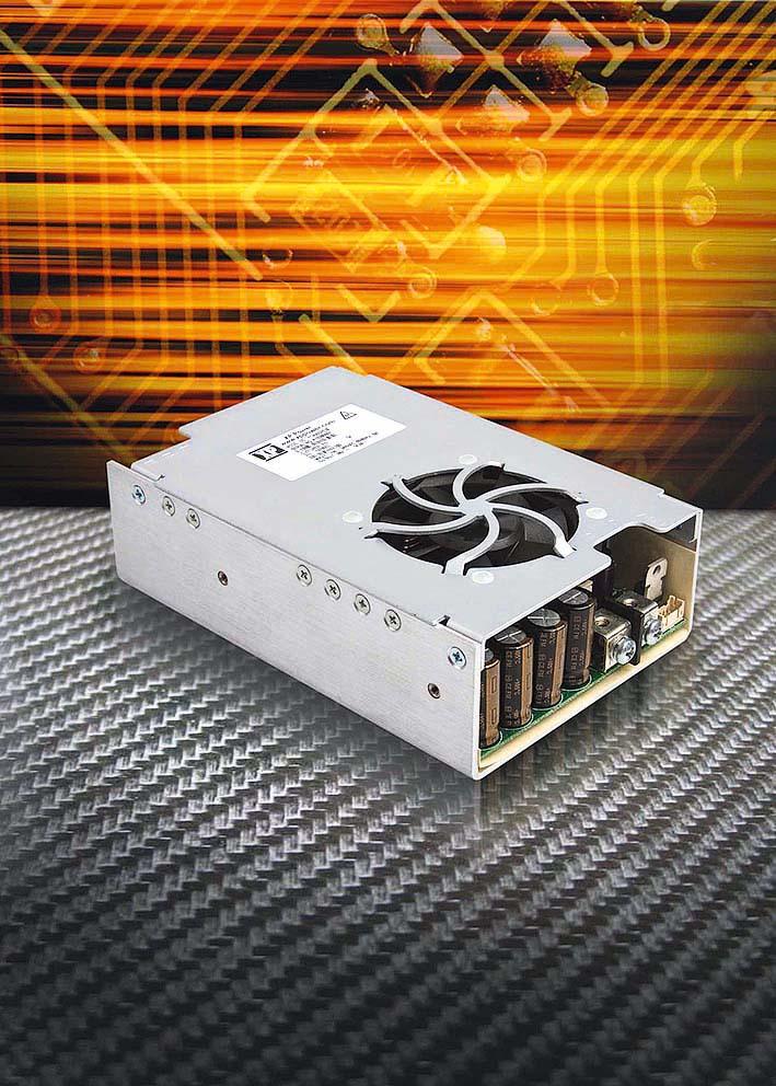 Компактные 400-Вт источники питания AC/DC обеспечивают пиковую мощность 600 Вт