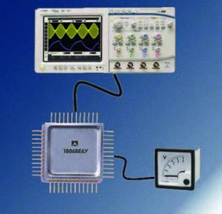 Микроконтроллердля аналоговых систем 1886ВЕ6У от компании «Миландр»