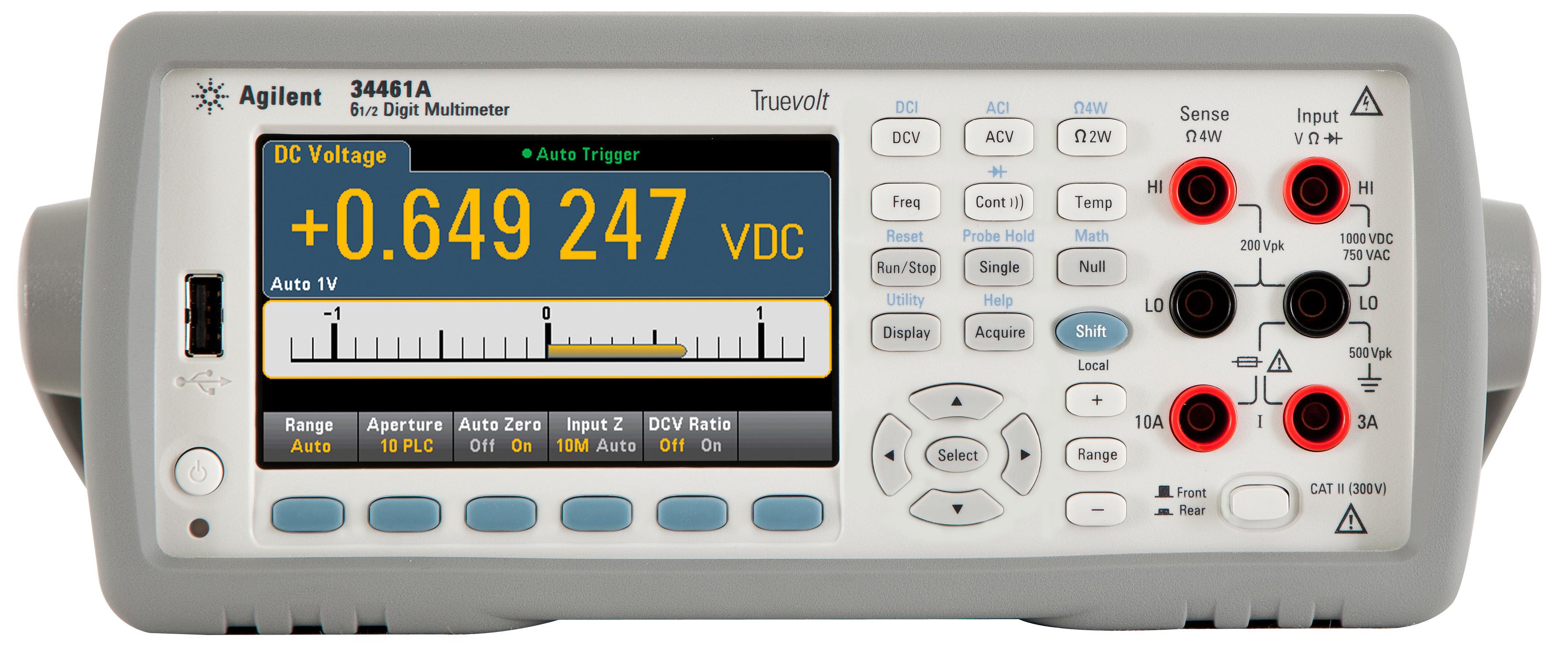 Новое поколение 6 1/2 -разрядных цифровых мультиметров от Agilent