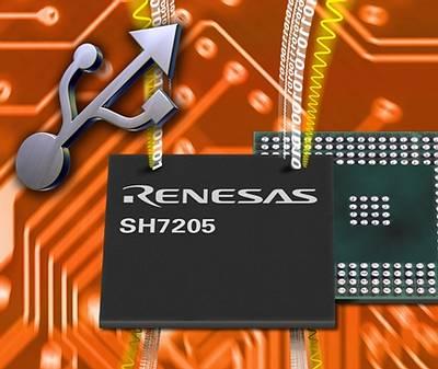 SuperH-микроконтроллер фирмы Renesas