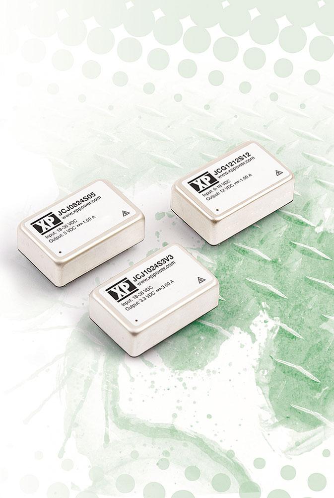DC/DC-преобразователи с выходной мощностью 15 Вт добавлены в серии JCG и JTF