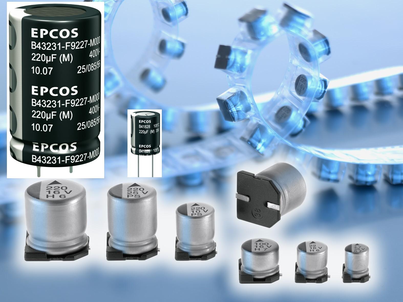 Новые недорогие конденсаторы от фирмы EPCOS