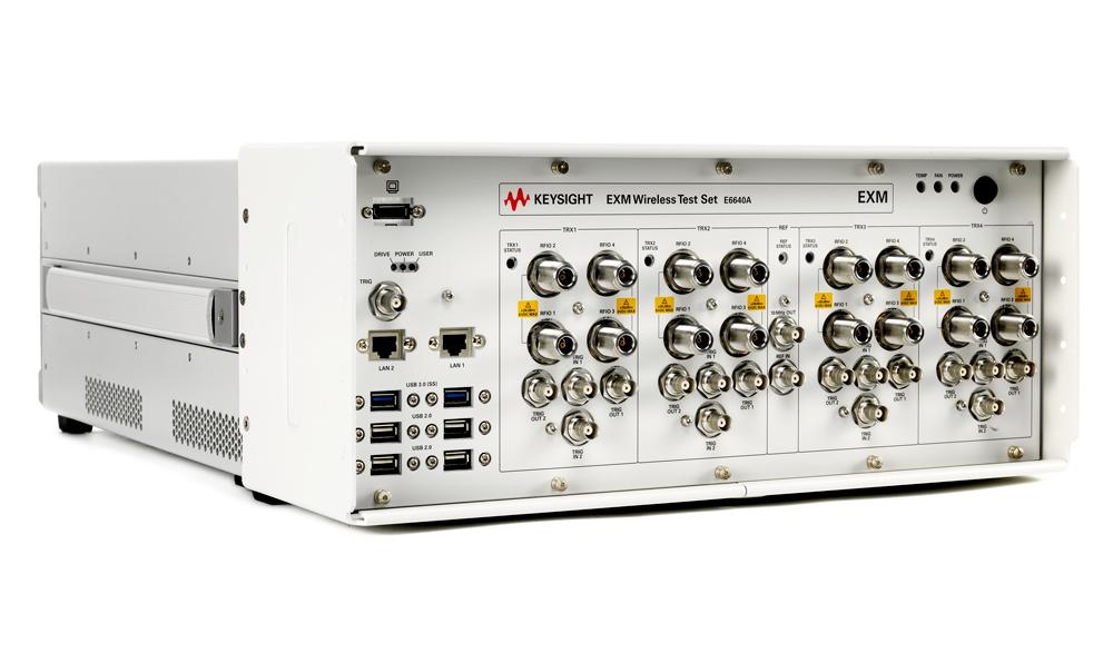 Новые возможности в решение для тестирования беспроводной связи EXM от Keysight