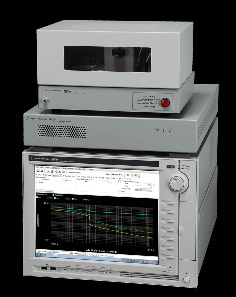 Анализатор ёмкости мощных полупроводниковых приборов от Agilent Technologies