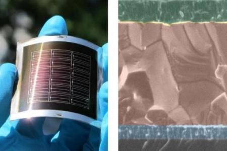 Эффективность гибких солнечных батарей на базе CdTe