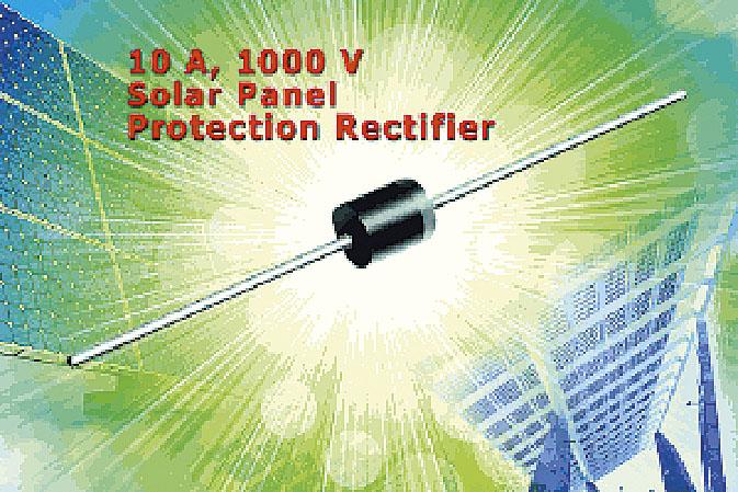 Фотодиод 10 A, 1000 В защищает солнечные модули
