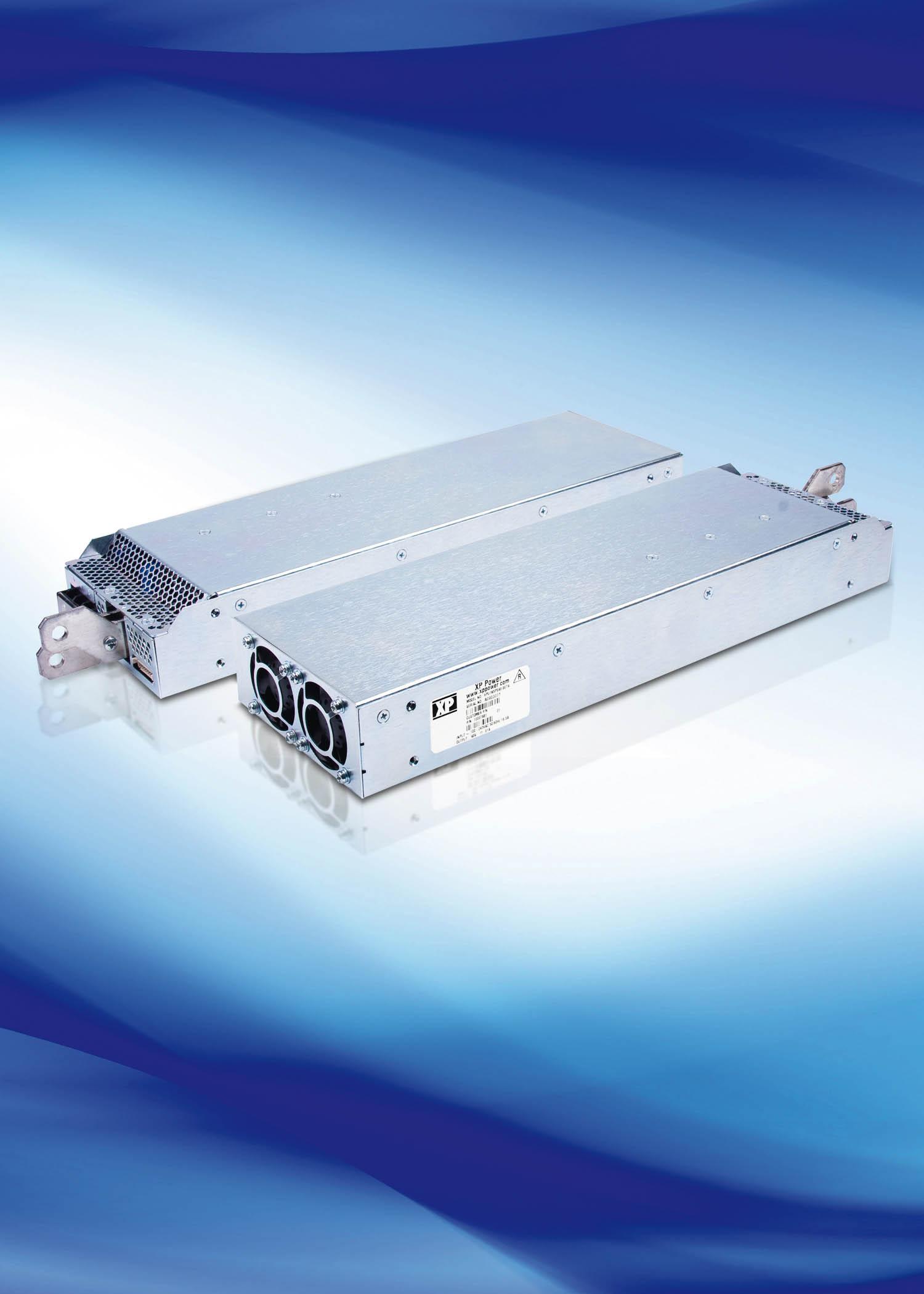 Низкопрофильный 1500-Вт источник питания AC/DC для применения в системах электропитания промышленных предприятий