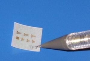 Транзисторы на бумаге станут основой «умной» упаковки