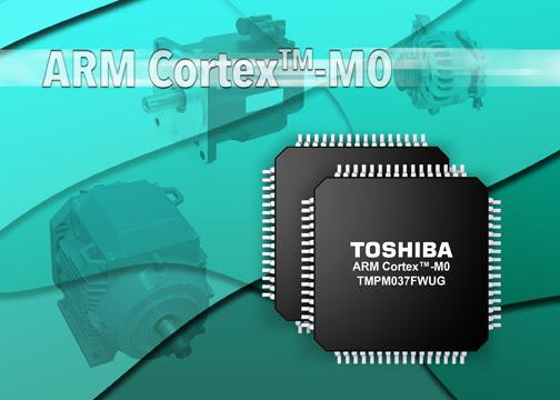 Многофункциональный микроконтроллер с малым количеством выводов на базе ядра ARM® Cortex®-M0 от Toshiba