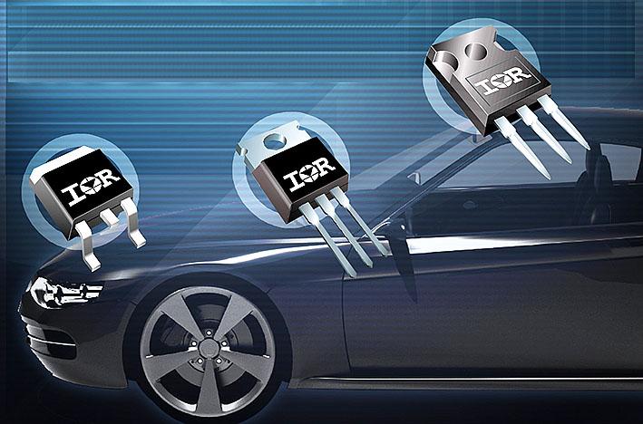 Транзисторы MOSFET с низким сопротивлением открытого канала для применения в автомобильном электрооборудовании