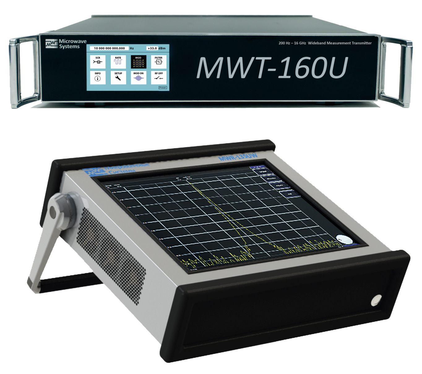 Векторный генератор  и измерительный приёмник отечественного производства