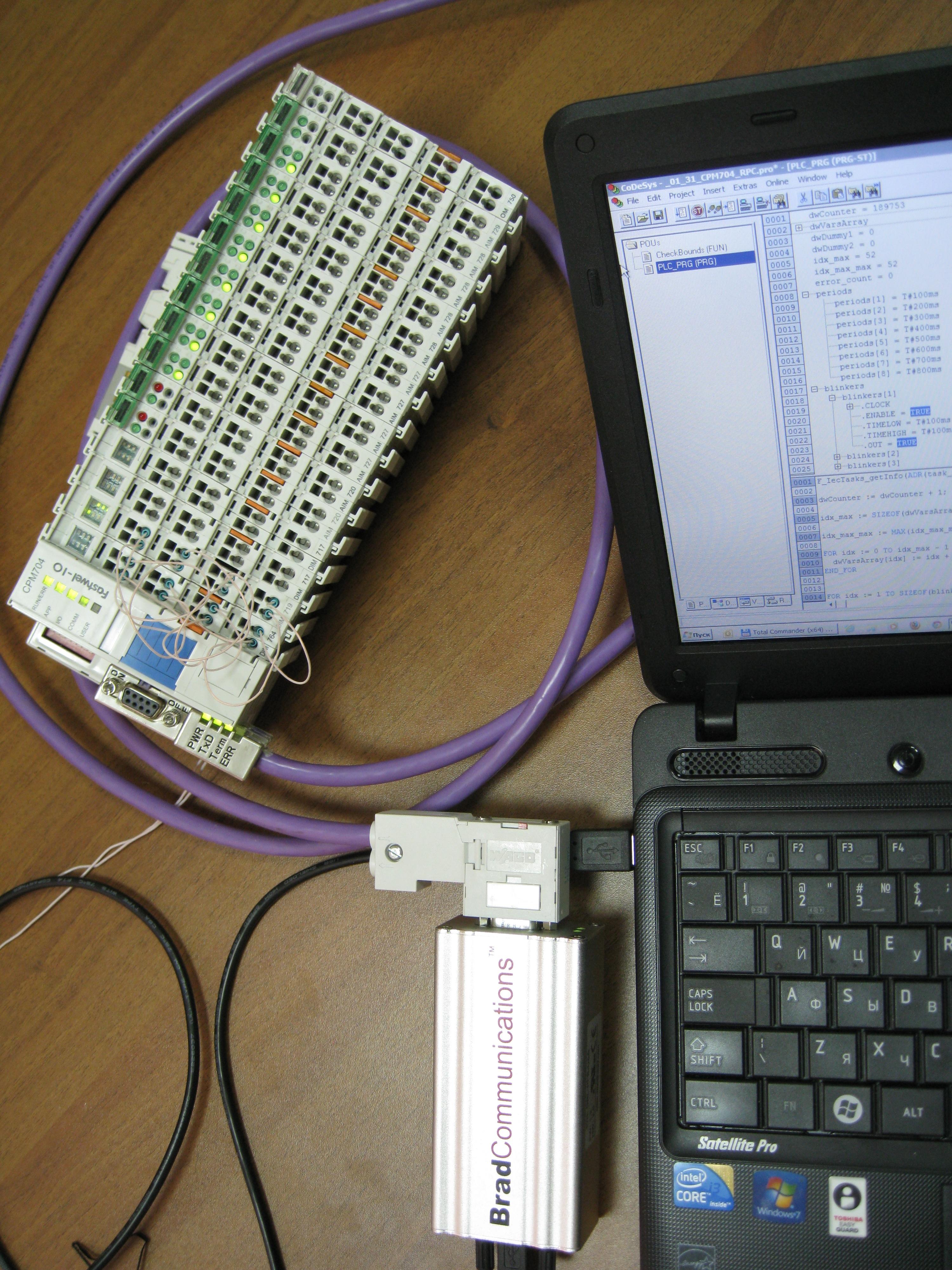 Удалённое управление контроллерами Fastwel I/O в сетях PROFIBUS