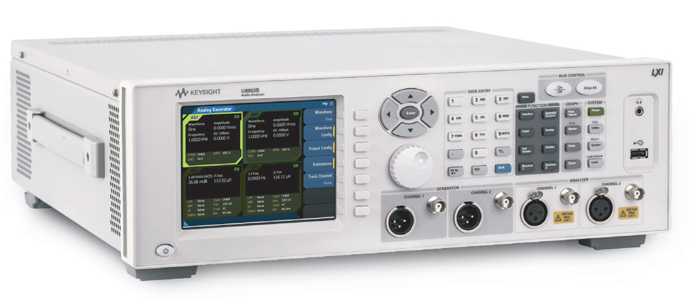 Производительный аудиоанализатор следующего поколения