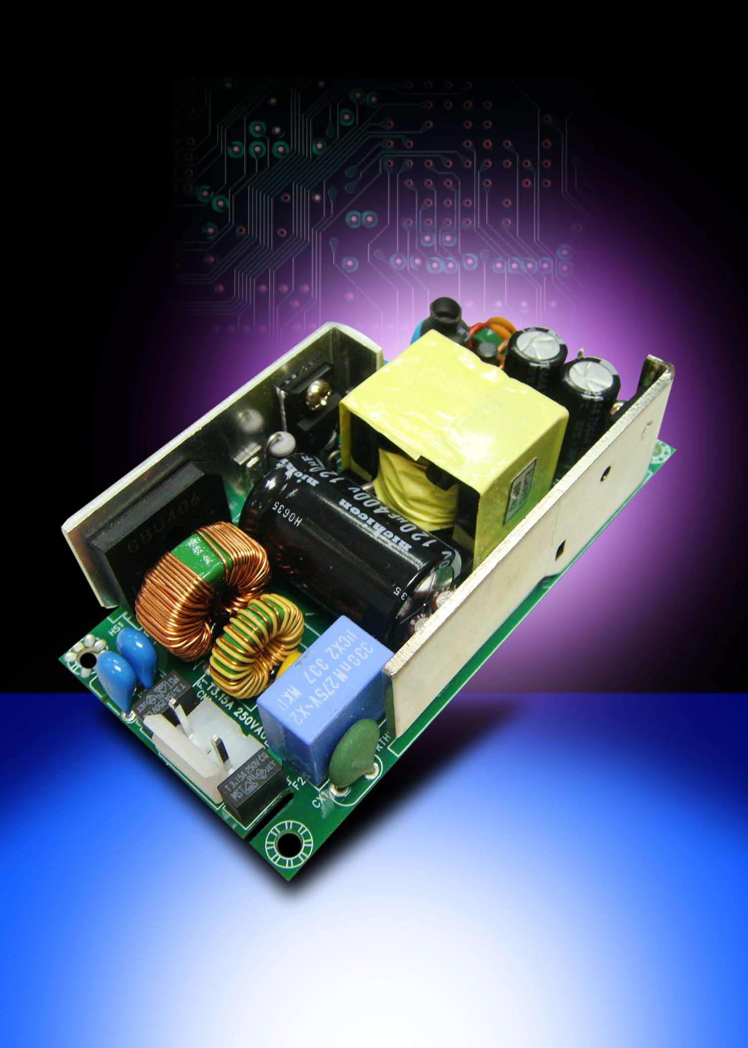 Источники питания AC/DC 40…65 Вт для медицинской аппаратуры