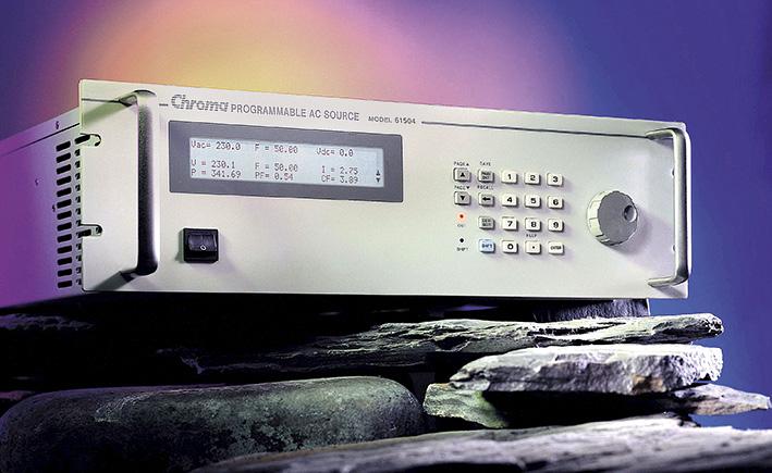 Программируемый источник электропитания переменного тока Chroma 61500