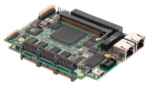 Модуль форм-фактора PCI/104-Express на базе процессора PowerPC