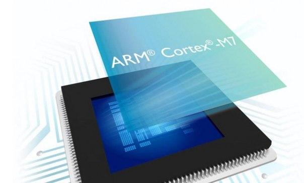 ARM представила новый процессор Cortex-M7 для IoT и систем автоматизации
