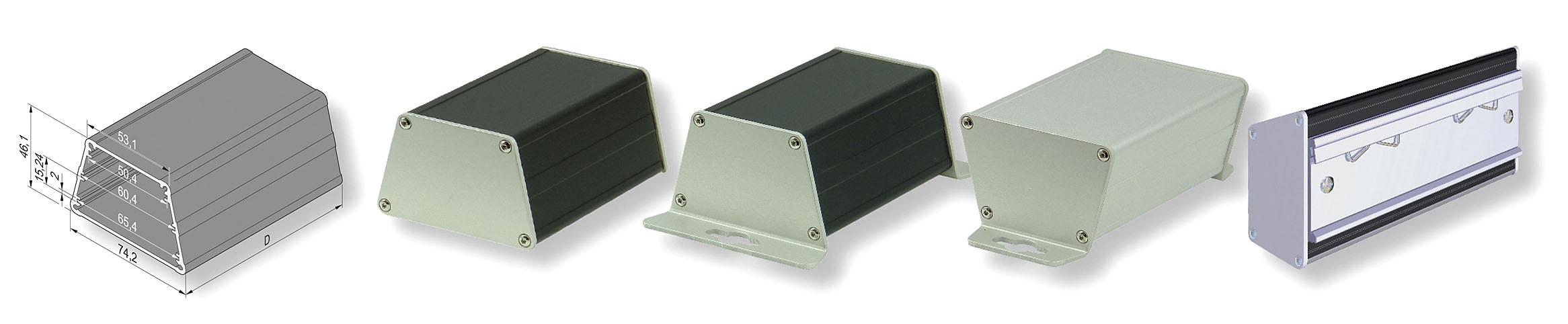 Универсальный корпус minipac для стандартных и нестандартных печатных плат