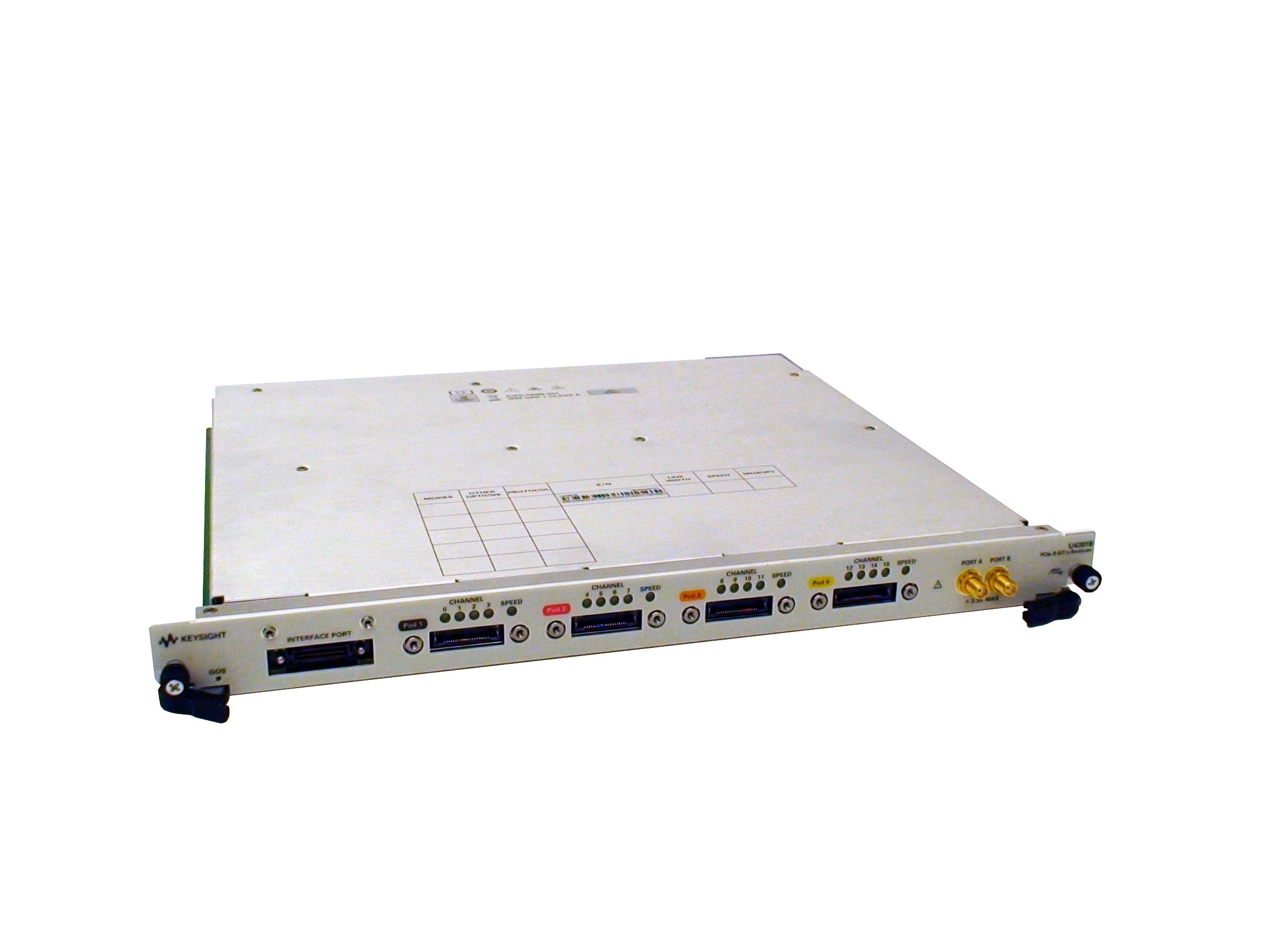Keysight Technologies: решение для анализа сигналов протокола PCIe Gen3