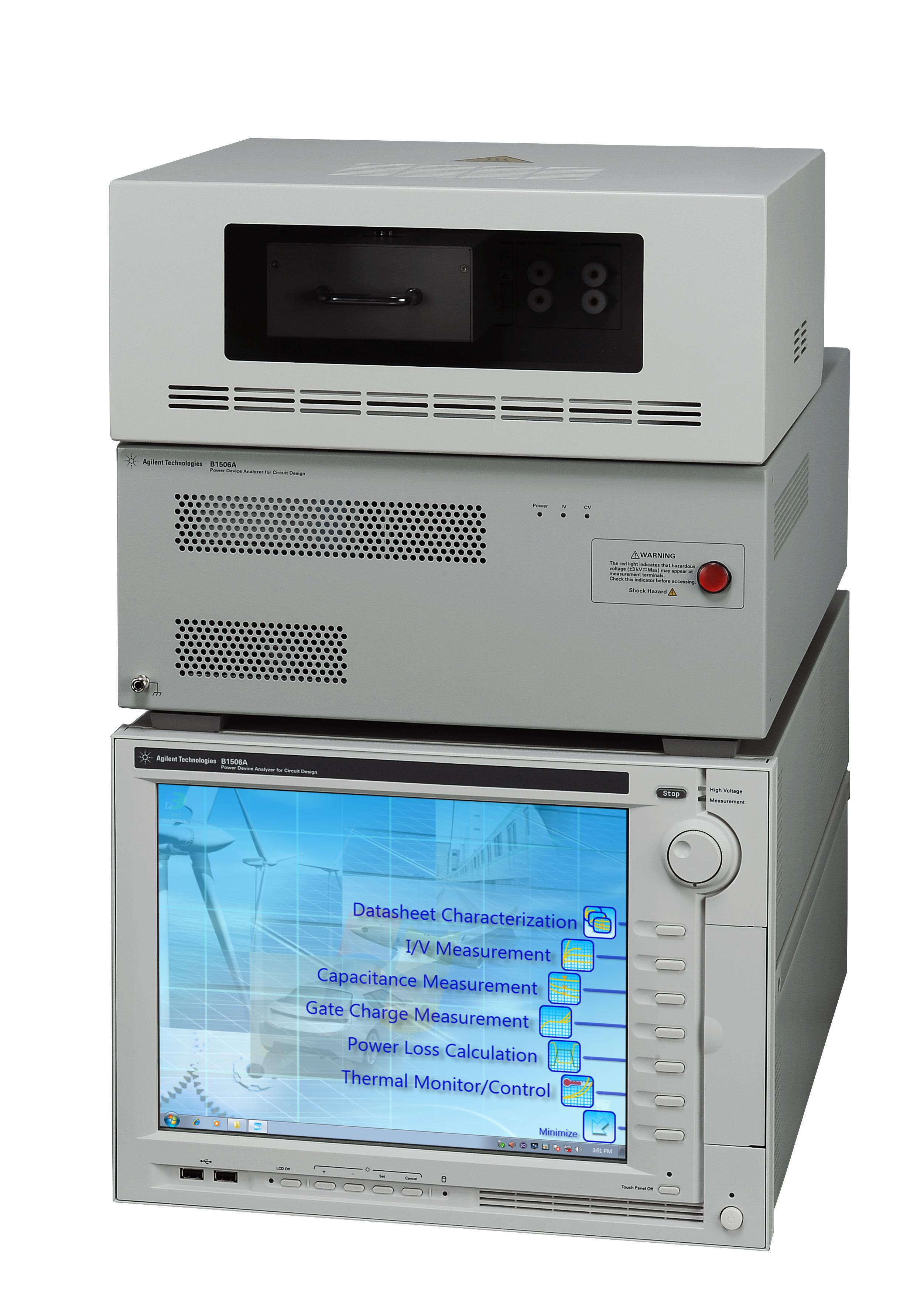 Agilent Technologies: первый в отрасли анализатор силовых полупроводниковых приборов