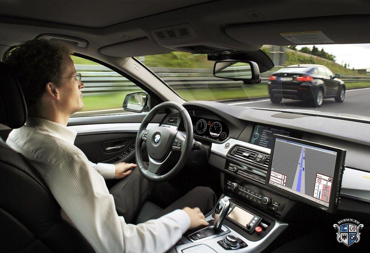 BMW и Baidu объединились в разработке автопилота