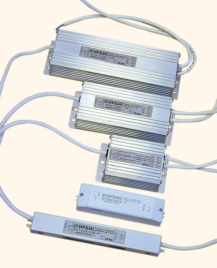 «Ирбис» предлагает драйверы для светодиодов