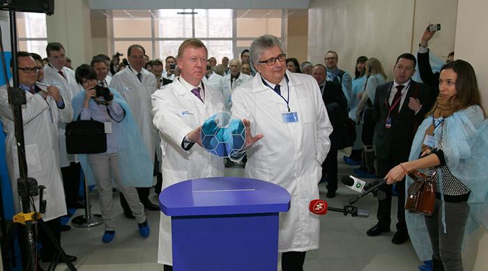 На новом технологическом комплексе компании «НЭВЗ-КЕРАМИКС» начат серийный выпуск изделий из нанокерамики