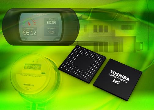 Toshiba представляет двухъядерный микроконтроллер