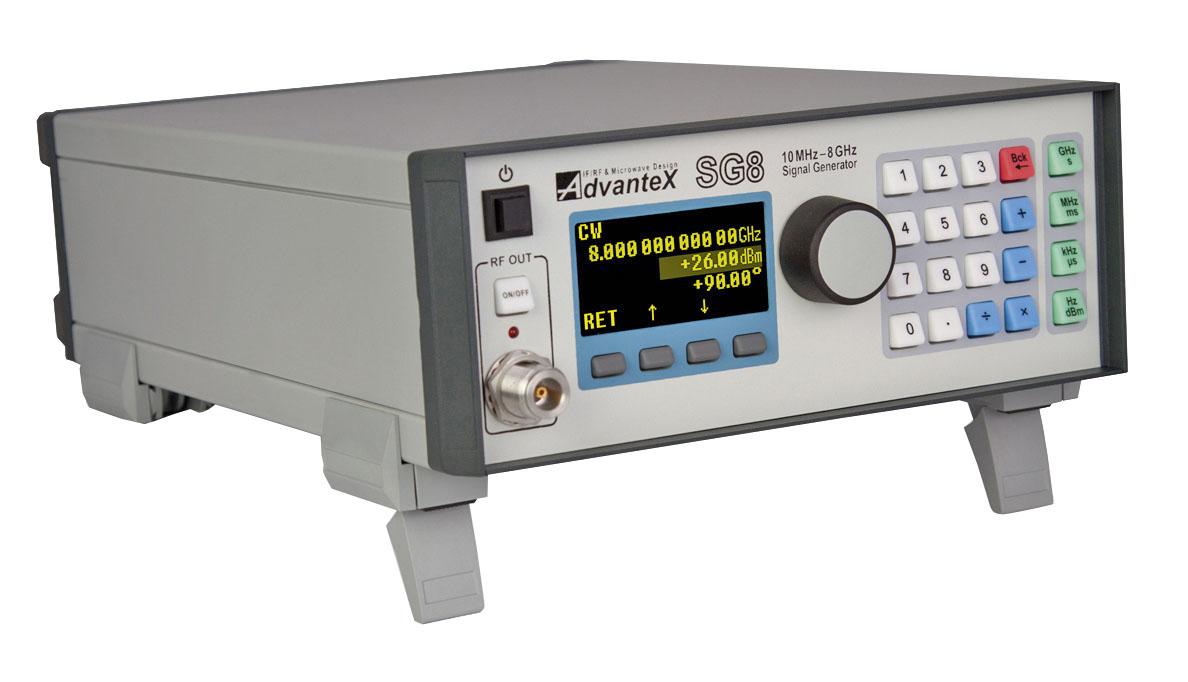 Генератор сигналов SG8 с улучшенными характеристиками