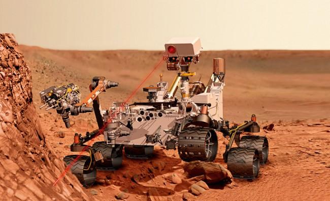 Марсоход Curiosity достиг заветной цели