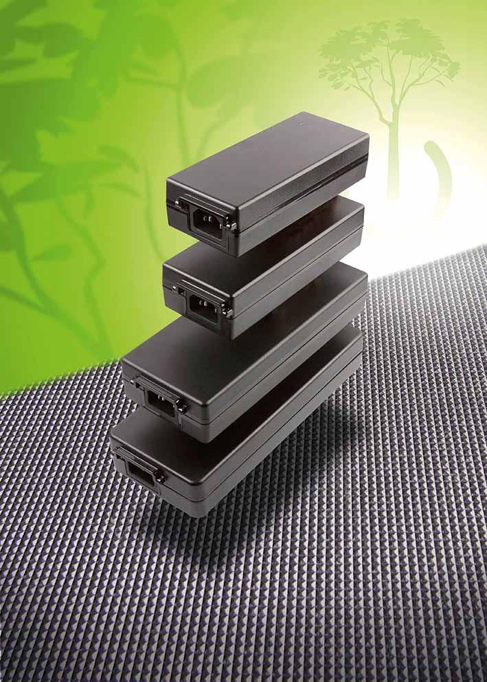 85…250-Вт выносные источники питания AC/DC c КПД 92% для IT и медицинского оборудования