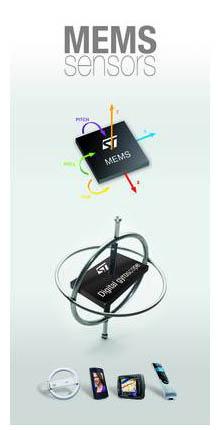 EBV Elektronik – авторитет в мире датчиков компании STMicroelectronics