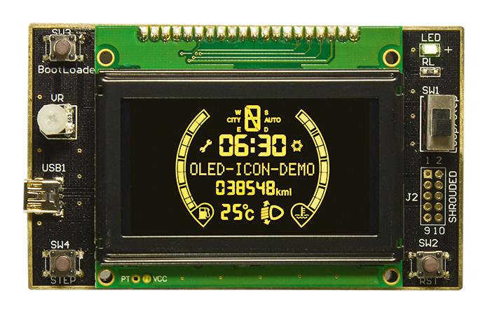 Raystar Optronics расширяет ряд стандартных моделей дисплеев OLED и предлагает модели по индивидуальным заказам
