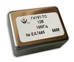 Малогабаритный прецизионный малошумящий кварцевый генератор ГК197-ТС