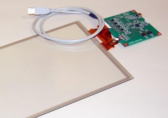 Fujitsu представила мультисенсорную резистивную панель