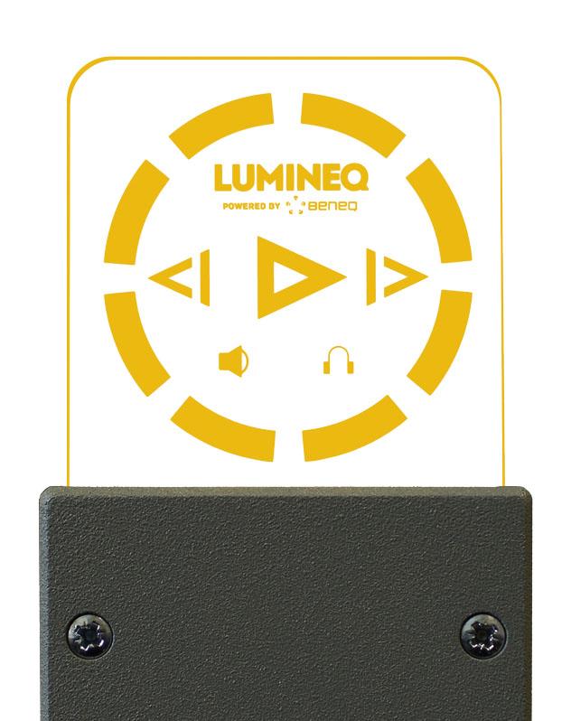Электролюминесцентный прозрачный дисплей ELT15S-1500 TASEL® высокой яркости от Lumineq®
